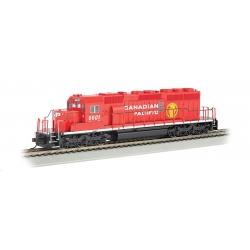 Canadian Pacific Railway 6601 (modern) - SD40-2 (HO Scale)