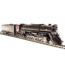 Steam Locomotive HO Milwaukee S-3 4-8-4 №268 Paragon3 Sound DC DCC Broadway Limited 2597