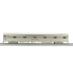 Broadway Limited Imports 1526 Zephyr WP 6 Bedroom - 5 Compartment Sleeper №852, 'Silver Swallow', HO