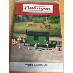99030 Auhagen Bauwagen Bausatz / Construction vehicle kit.