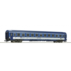 64645 - Roco 2nd class passenger carriage, CD, HO