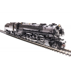 BLI 4990 Brass Steam Locomotive UP-4, 4-12-2 9034, modernized, standard cab, Paragon3 Sound/DC/DCC, Smoke, HO