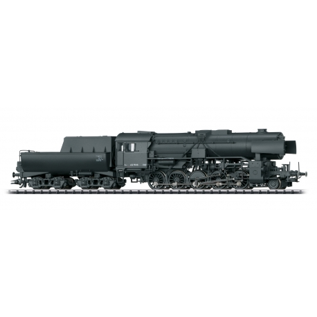 Trix 22225 Class 42 2-10-0 - Sound and DCC-SX -- German State Railroad DR 42 506 (Era II 1944, black)