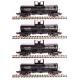Broadway Limited 6174 6000 Gallon Tank, Southern Alkali, 4-pack, HO