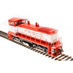 Broadway Limited 5455 EMD SW1500, SLSF 330, Orange & White, Paragon3 Sound/DC/DCC, HO