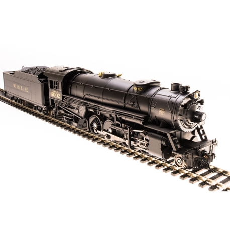 Broadway Limited 5557 USRA Heavy Mikado, W&LE 6002, Paragon3 Sound/DC/DCC, HO