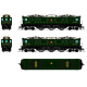 Broadway Limited 4712 PRR P5a Boxcab, 4773, Freight Type, DGLE, Buff Yellow Roman Lettering (Round), Paragon3 Sound/DC/DCC, HO
