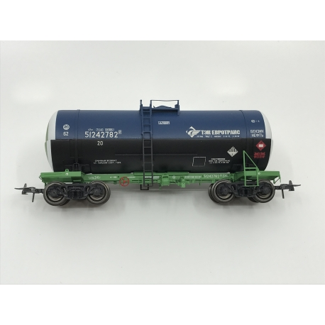 Onega 4-axle tank wagon for viscous petroleum products, model 15-1566-0202, HO