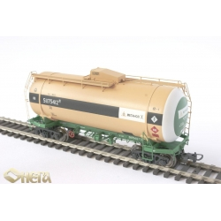 Onega 4-axle tank wagon for methanol, model 15-1610-0001, HO