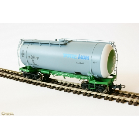 Onega 4-axle tank wagon for gasoline, model 15-1447-0003, HO