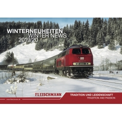 Roco / Fleischmann 81822 Winterneuheiten / Winter News 2019 / 20 Catalogue