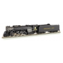 Bachmann 52405 2-8-4 Kanawha/Berkshire w/Sound & DCC -- Chesapeake & Ohio 2705 (black, graphite), HO