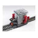 Ballast Spreader Car HO -- With Shutoff & Height Adjustment - Bachmann AA39016 - Proses BS-HO-02