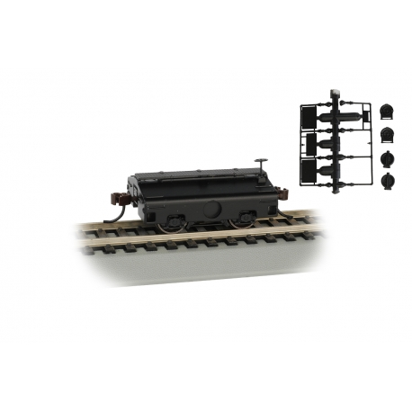 Scale Test Weight Car HO - Undecorated - Bachmann 74405
