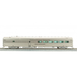Broadway Limited Imports 1505 Zephyr CB&Q 48-Seat Dining Car №195, 'Silver Restaurant', HO