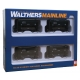 """Walthers Mainline 910-58064 24' Minnesota Taconite Ore Car 4-Pack - Ready To Run, HO """