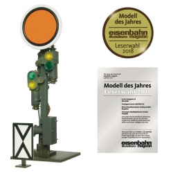 40608 - H0 Semaphore distant signal, movable disk