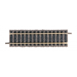 6102 - Fleiscmann Straight track for the diagonal, 10 pieces, HO