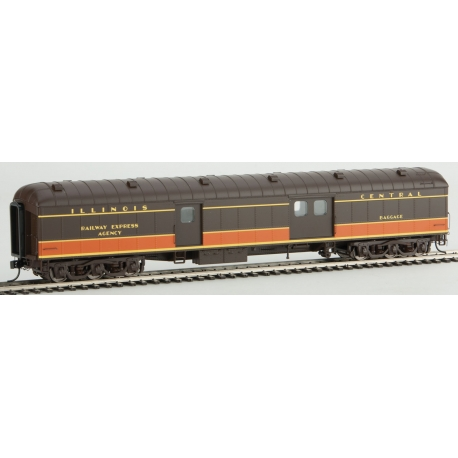 WalthersProto 920-17362 70' ACF Arched-Roof Baggage Car - Ready To Run, HO