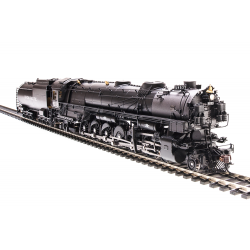 BLI 4993 UP-3, 4-12-2, 9019, modernized, 18,000 gallon tender, black & graphite, Paragon3 Sound/DC/DCC, Smoke, HO