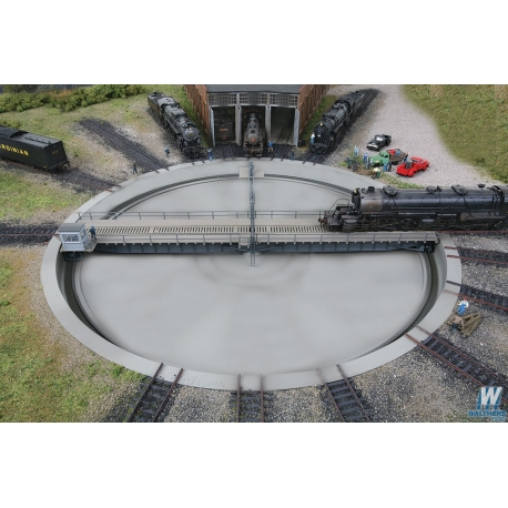 Walthers 933-2859 Motorized 130' Turntable, HO