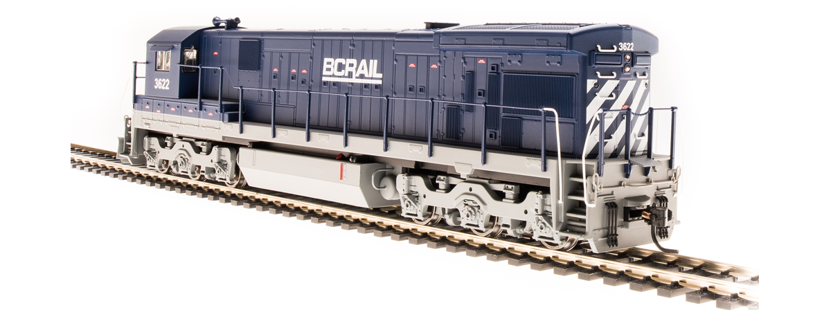 BLI 4404 GE C30-7, BC Rail 3622, Blue & Gray, Paragon3 Sound/DC/DCC, HO