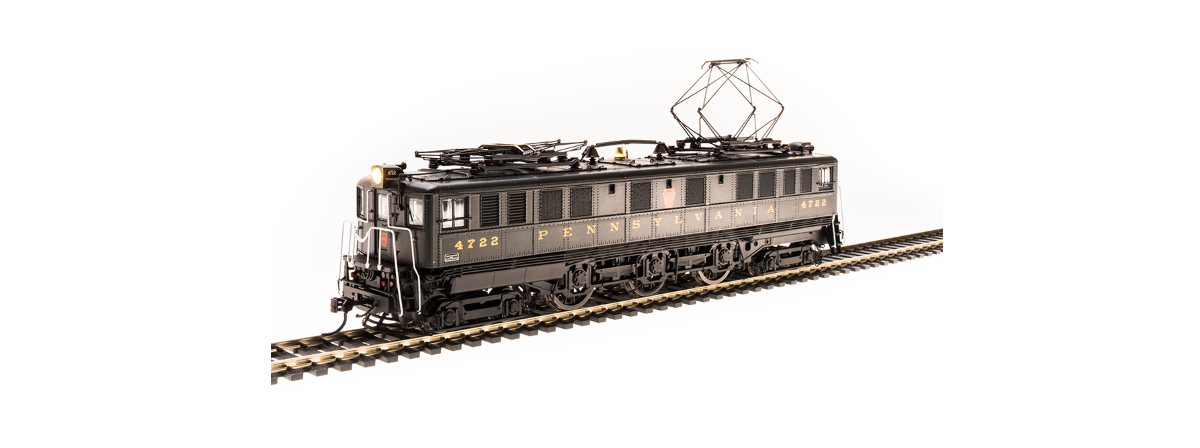 Broadway Limited 4712 PRR P5a Boxcab, #4773, Freight Type, DGLE, Buff Yellow Roman Lettering (Round), Paragon3 Sound/DC/DCC, HO