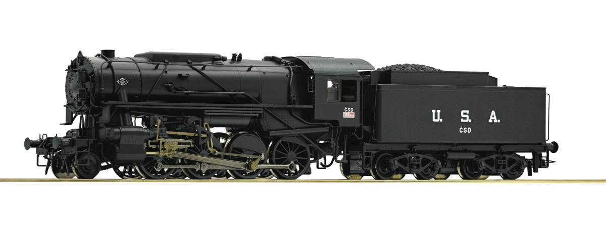 Roco 72165 Steam locomotive S 160, CSD, HO