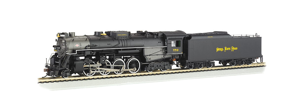 Bachmann 52404 2-8-4 Berkshire w/Sound & DCC -- Nickel Plate Road 759, HO