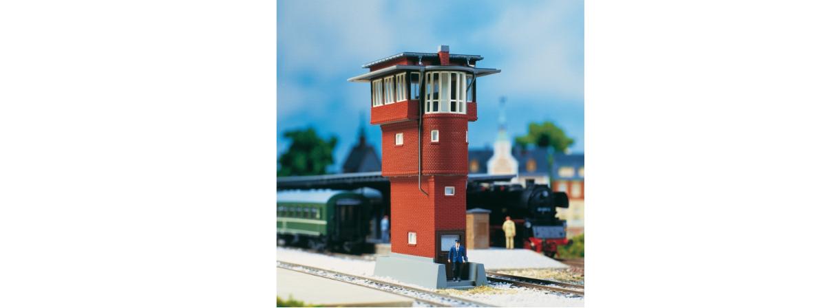 Auhagen 11375 Stellwerk Erfurt / Erfurt signal Box, HO