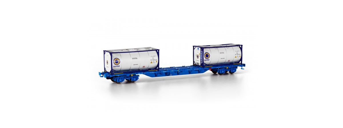 Sudexpressmodells SURE04517 Renfe Sgnss intermodal container wagon, HO