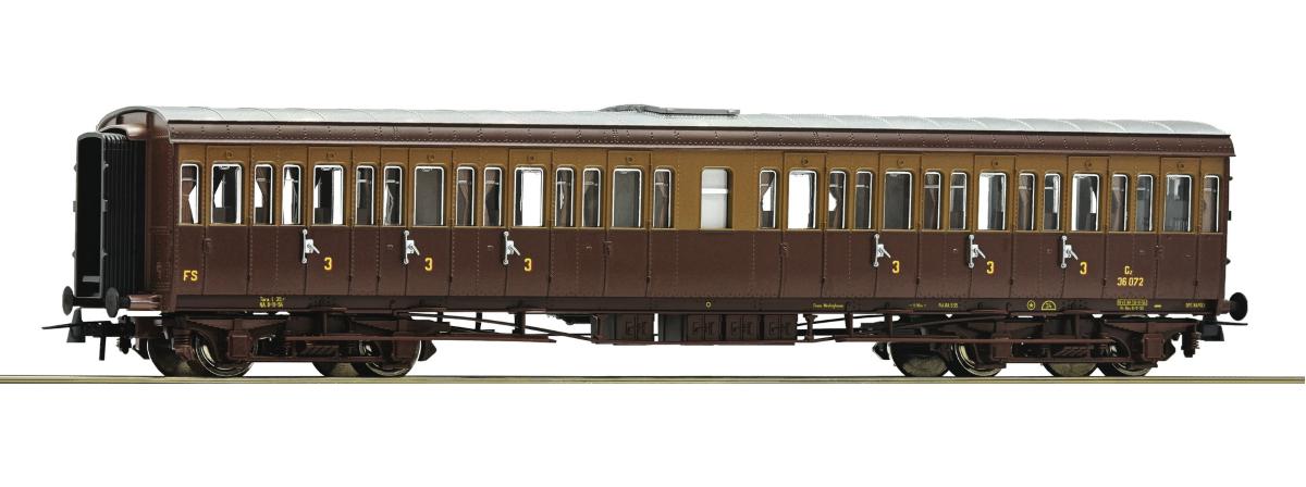 64981 - Roco 3rd class passenger coach, FS, HO