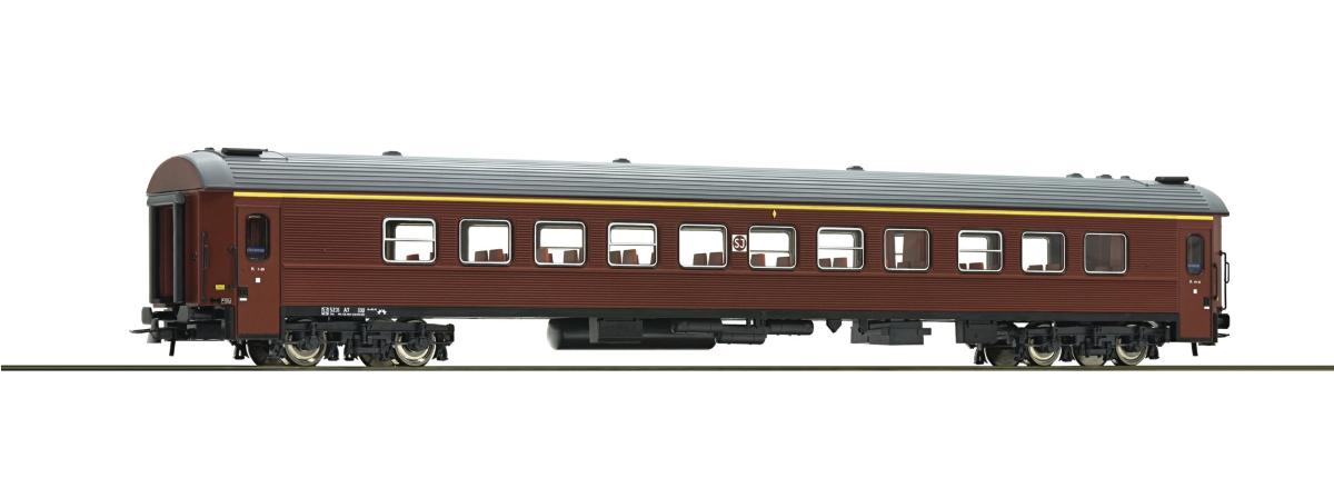 Roco 74512 - 1st class passenger coach, SJ, HO