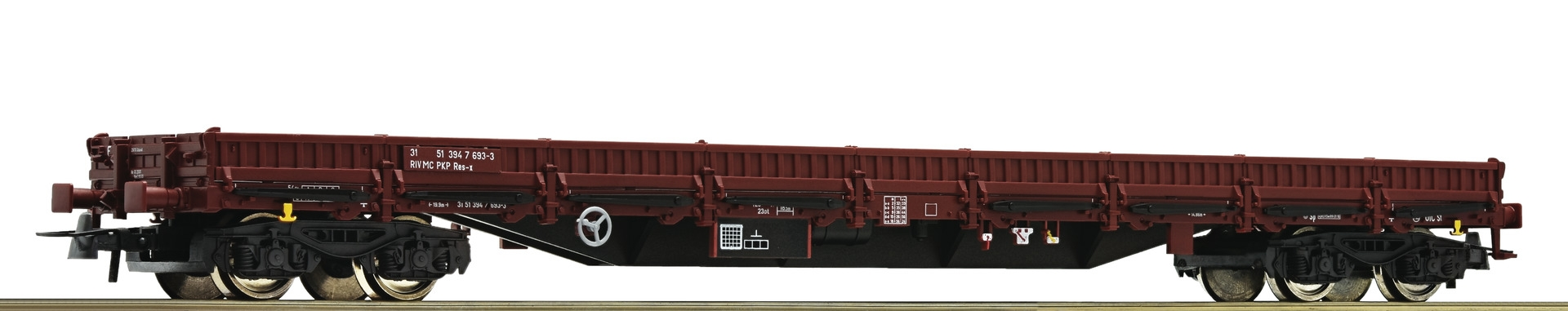 76981 - Roco Stanchion wagon, PKP, HO