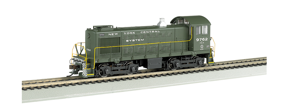 Bachmann 63217 Alco S4 w/Sound & DCC -- New York Central P&LE #9762 (dark green, System Lettering), HO