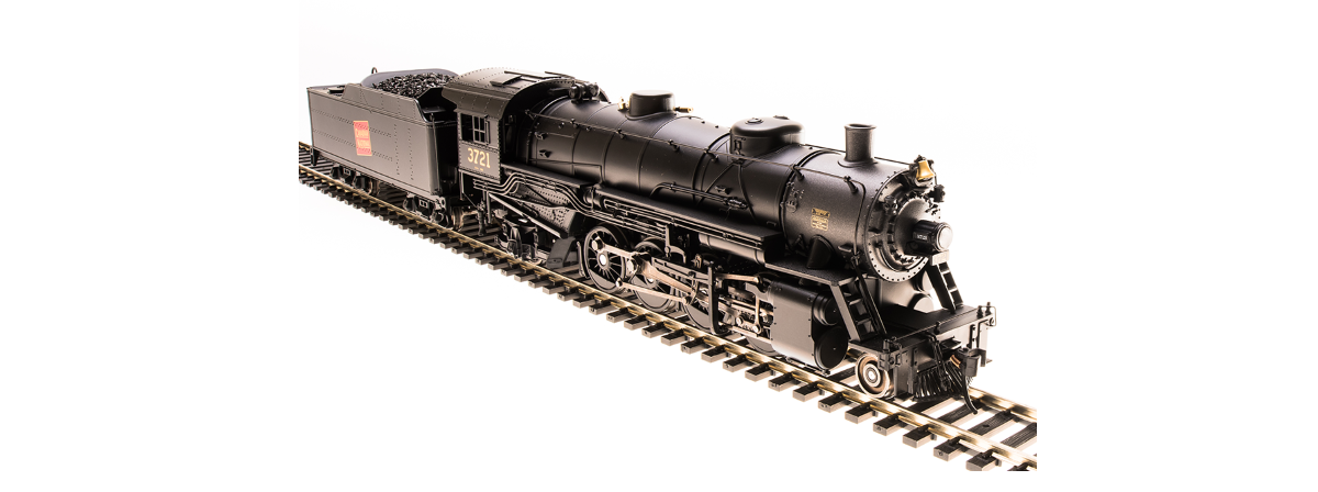 Broadway Limited 5568 USRA Light Mikado, CN 3726, Paragon3 Sound/DC/DCC, HO