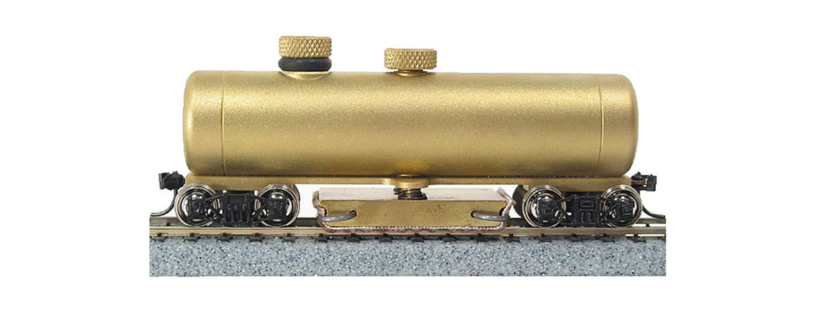 CMX CMXHO Clean Machine Track Cleaning Car (Brass), HO