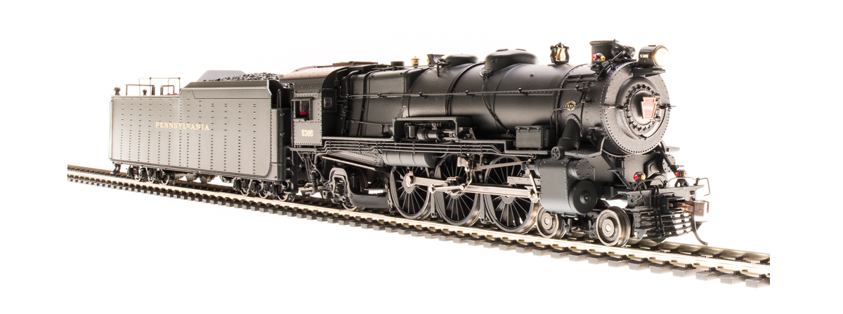 Broadway Limited 4429 PRR K4s 4-6-2, №5365, Pre-war w/ 210F75 Long-haul Tender, Paragon3 Sound/DC/DCC, HO
