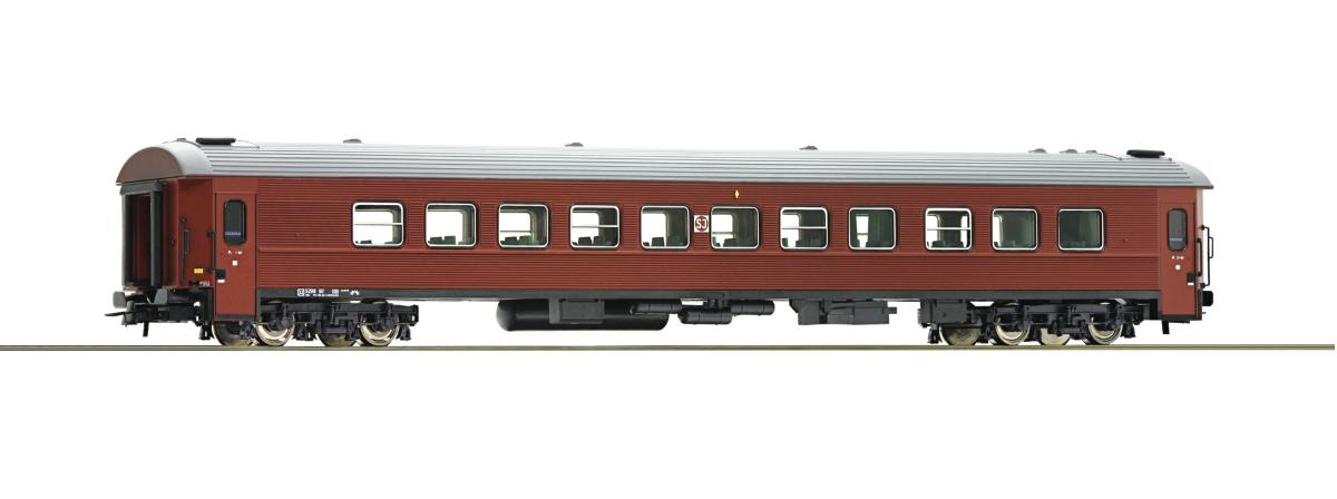 Roco 74513 - 2nd class passenger coach, SJ, HO