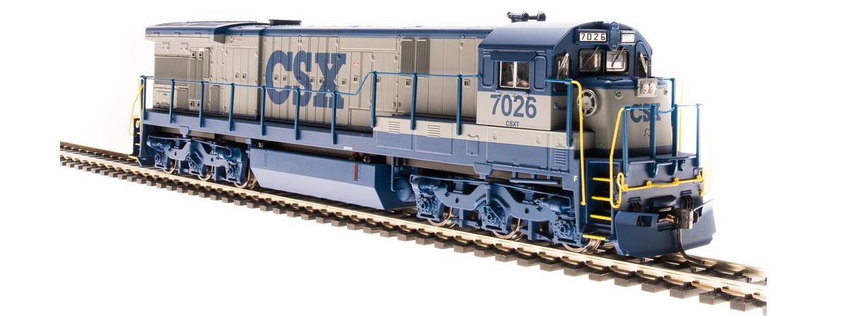 BLI 4408 GE C30-7, CSX 7026, Gray & Blue, Paragon3 Sound/DC/DCC, HO