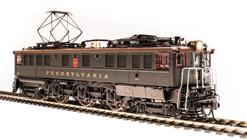 Broadway Limited 4700 PRR P5a Boxcab, 4739, 1930's Passenger Type, DGLE, Brown Roof, Gold Leaf Roman Lettering, Paragon3 Sound/DC/DCC, HO