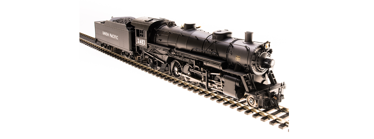 Broadway Limited 5580 USRA Light Mikado, UP #2488, Paragon3 Sound/DC/DCC, HO