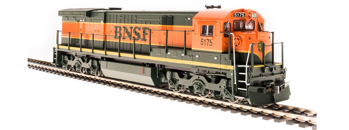 BLI 4406 GE C30-7, BNSF 5175, Green & Orange, Paragon3 Sound/DC/DCC, HO