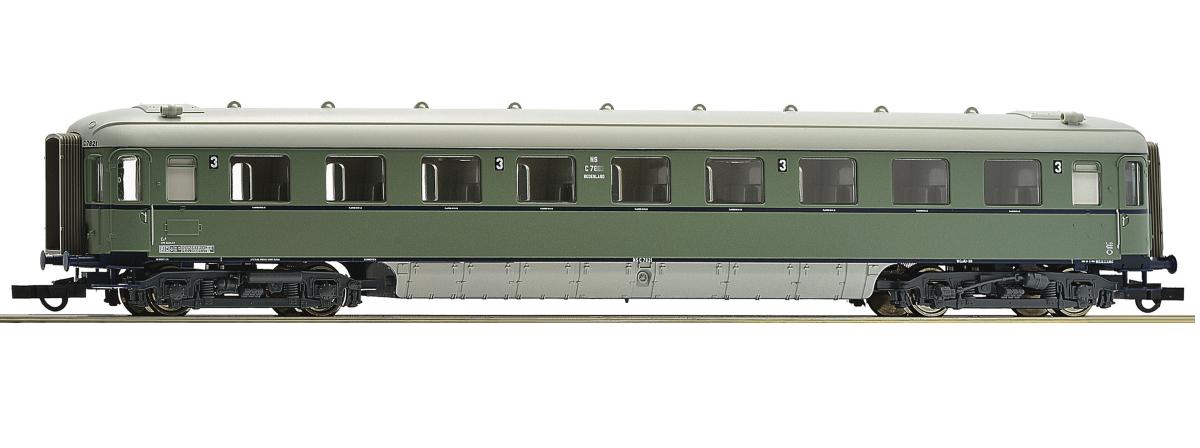 """Roco 64997 - 3rd class passenger car """"Plan D"""", NS, HO"""