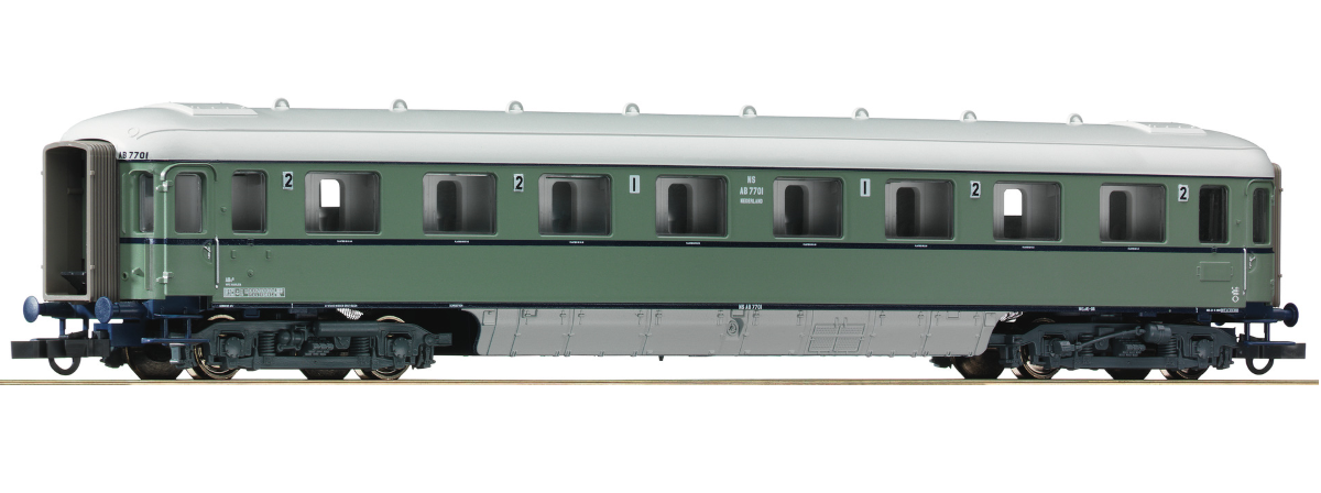 "Roco 64996 - 1st/2nd class passenger car ""Plan D"", NS, HO"