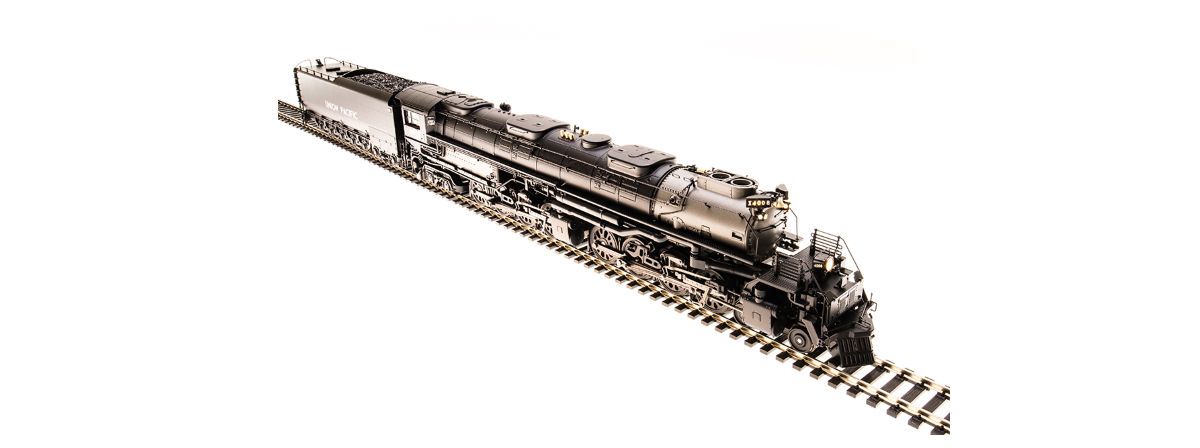 Broadway Limited 5670 UP Big Boy #4009, 1941, As-Delivered Aftercooler, 25-C-100 Coal Tender, Sound/DC/DCC, HO