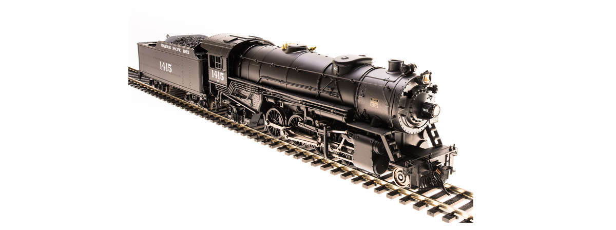 Broadway Limited 5552 USRA Heavy Mikado, MP 1460, Paragon3 Sound/DC/DCC, HO