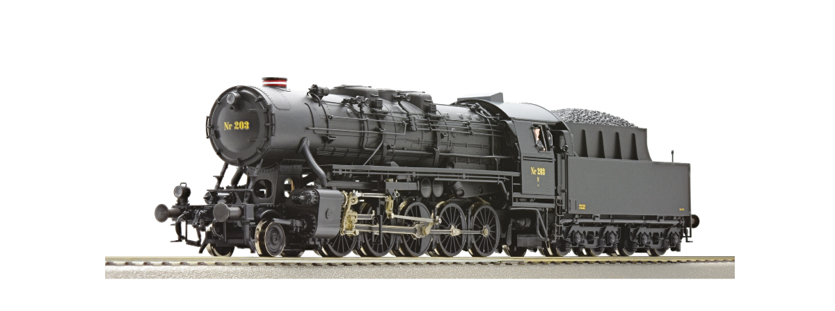 Roco 72145 - Steam locomotive Litra N, DSB, HO