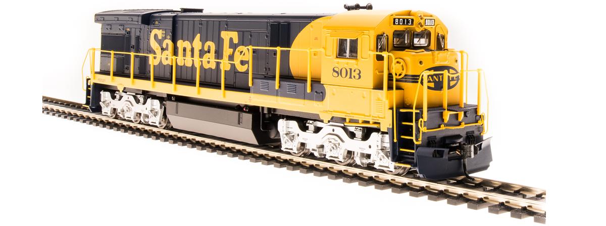 4400 GE C30-7, ATSF #8013, Yellow Bonnet, Paragon3 Sound/DC/DCC, HO