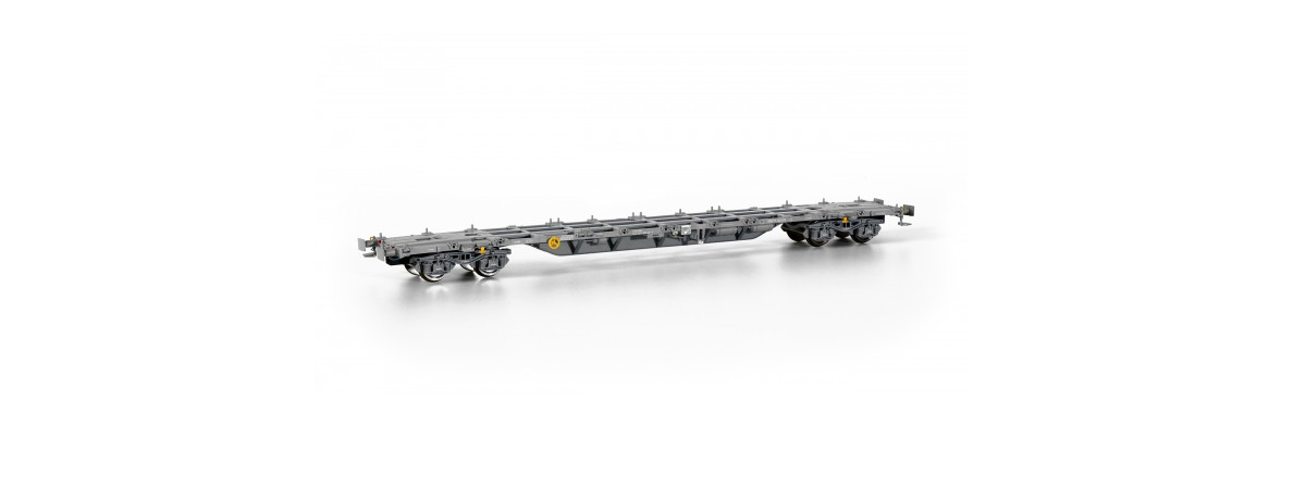 Sudexpressmodells SURM02617 Renfe Sgnss intermodal container wagon, HO